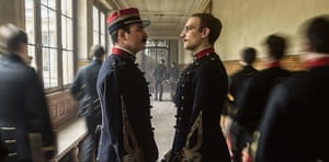 Jean Dujardin and Louis Garrel in J'accuse – also titled An Officer and a Spy – by Roman Polanski.