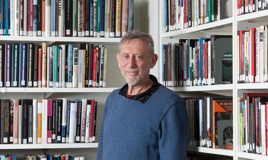 'It opens up forms of empathy and emotion': Michael Rosen used poetry to reflect on his family history.