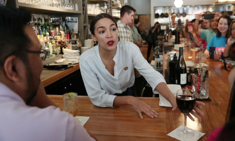 Ocasio-Cortez: $2.13 minimum wage for tipped workers is 'indentured servitude'
