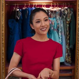 Wu as Rachel Chu in Crazy Rich Asians