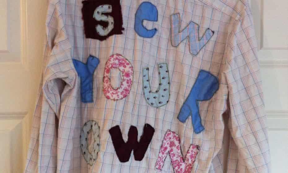 John-Paul Flintoff's decorated shirt