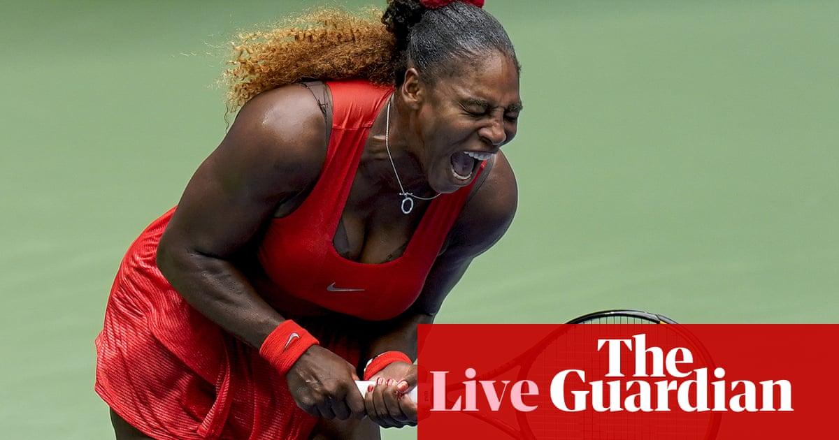 US Open: Serena Williams into semi-finals; Rublev v Medvedev – live!