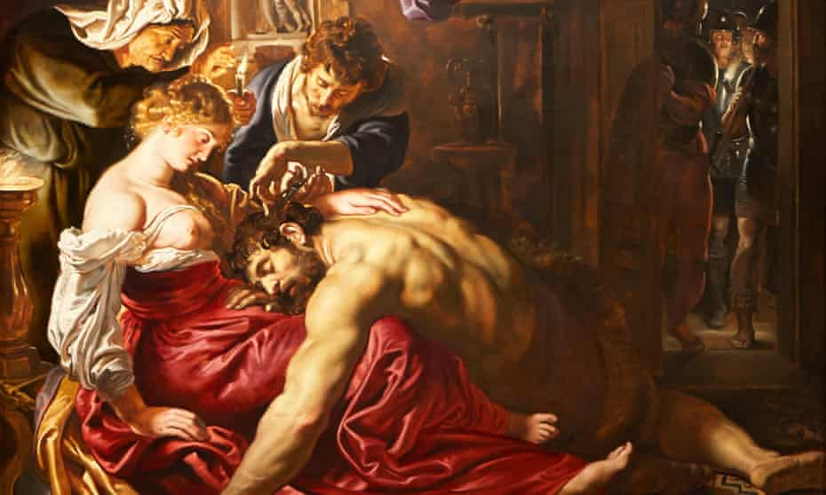 Samson and Delilah, 1609-10, said to be by Peter Paul Rubens in London's National Gallery