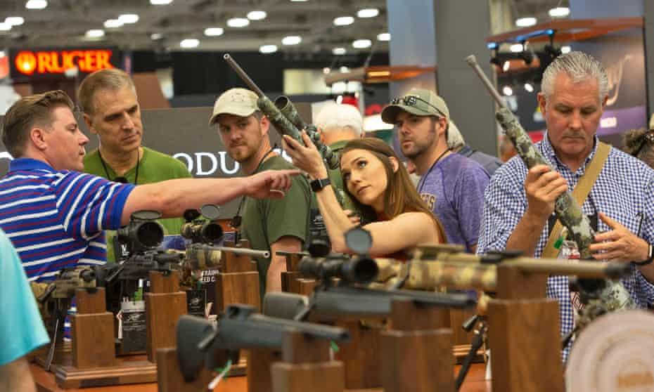 NRA Convention in Dallas, Texas.