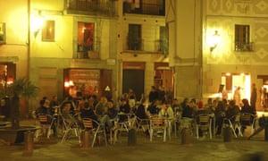 A bar in Barcelona