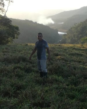 Yehry Helmut Rivera, an indigenous Brörán activist killed in Térraba, Costa Rica.