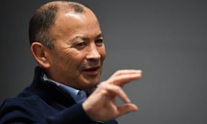Eddie Jones said: 'I remember sending a coach who is now in a very senior position dressed like a swagman to watch one team train – he got chased out.'