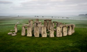 The remains of at least 10 of 25 people buried at Stonehenge in Wiltshire came from west Wales, near the Preseli Hills