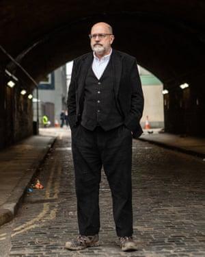 John Sweeney: 'I see my hobby as annoying the far right.'