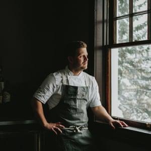 Jamie Harling, head chef, Deane House.