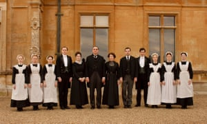 Top serving team: the butlers, footmen and maids of Downton Abbey have made it this decade's biggest television hit, both in the UK and the US.