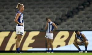 Kangaroos player Jed Anderson after defeat to Hawthorn.