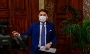 The Italian Prime Minister Giuseppe Conte announced a new emergency decree on coronavirus restrictions, at Palazzo Chigi, in Rome. Set to come into force from 4 December until 6 January, people will only be allowed to be out of the home from 10pm to 5am for work or health reasons. The movement between regions will be banned from 21 December until 6 January and it will not be possible to move outside one's town or city of residence on Christmas Day, St Stephen's Day and New Year's Day.