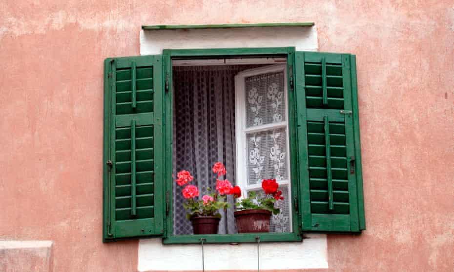 'A breeze blew through every window …'