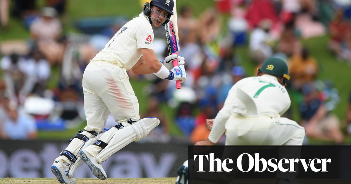 Rory Burns rumbles South Africa to keep England's first Test hopes alive