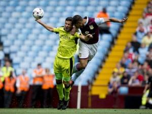 Rudy Gestede scores for Villa.