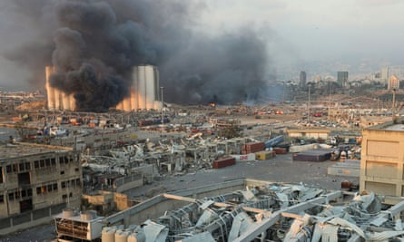 The claim that Hezbollah has been moving and storing ammonium nitrate around Europe comes six weeks after a devastating blast in Beirut's port.