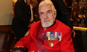 Bill Speakman became a Chelsea pensioner.