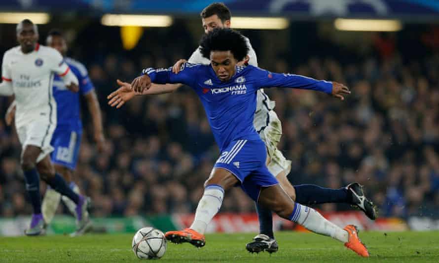 Chelsea's Willian - the sort of footballer Antonio Conte adores