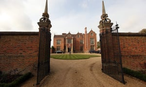 Chequers, the prime minister's official country residence in Buckinghamshire.
