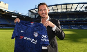 Frank Lampard is back at familiar surroundings in west London.