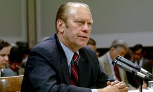 Gerald Ford, US president