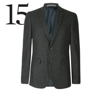 Suit, £149, M&S Collection recycled wool blend, marksandspencer.com