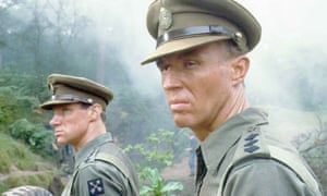 As Ronald Merrick (with Nicholas Farrell, left, as Teddie Bingham) in Granada TV's adaptation of the Jewel in the Crown.