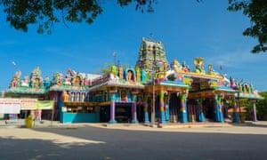 Naga Pooshani Amman temple, on Nainativu island.