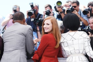 Jury members Will Smith, Jessica Chastain and Fan Bingbing attend the Jury photocall