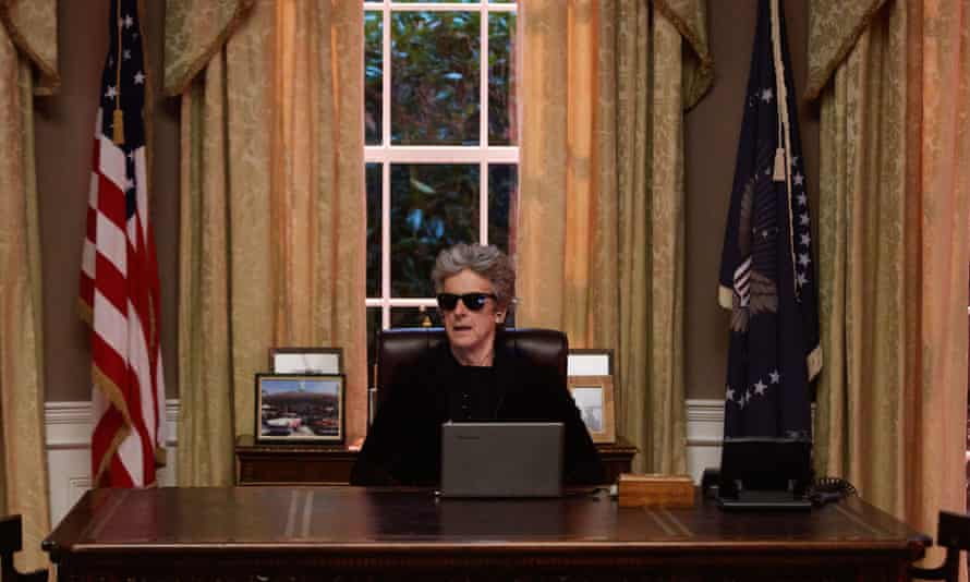 The new POTUS? … Peter Capaldi's Doctor takes over the world.