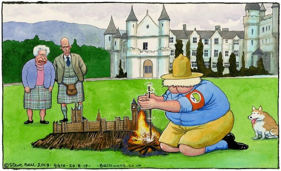 Boris Johnson stoppa il parlamento