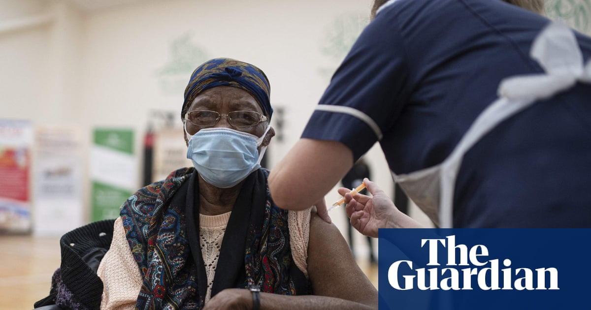 One in four elderly black people in the UK still not vaccinated
