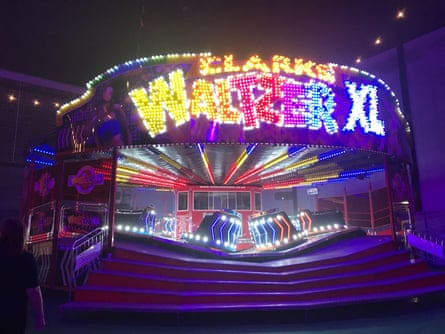 A waltzer at the Bah Humbug! Fest, Peterborough