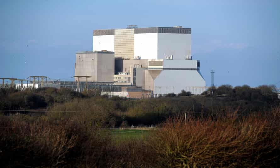Hinkley Point nuclear power station in Somerset
