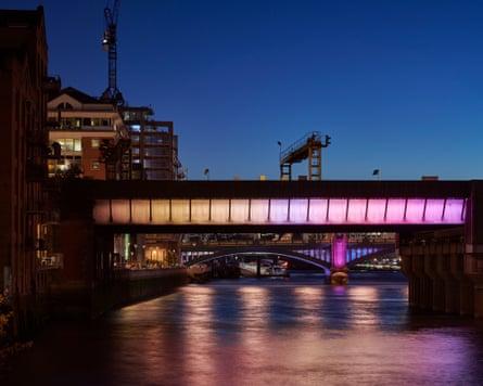 Cannon Street Bridge.May 2019