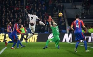 Lukaku scores his second goal.