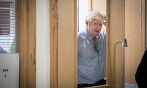 Boris Johnson has not said where the new hospitals would be built.