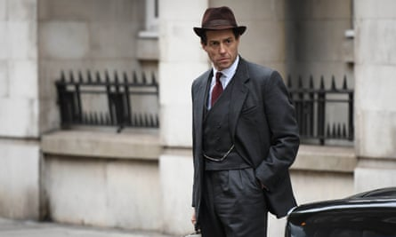 Hugh Grant as Jeremy Thorpe in the BBC drama A Very English Scandal