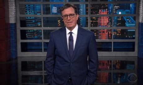 Stephen Colbert: 'The country is as hot as hell, so at least Cosby has a preview of the afterlife.'