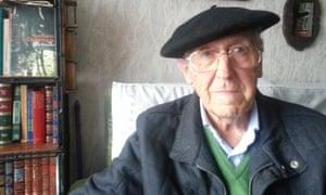 Portrait of Luis Iriondo Aurtenetxea, a survivor of the Guernica bombing.