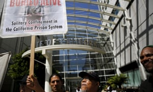 California solitary confinement