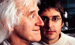 Jimmy Savile and Louis Theroux in the BBC's When Louis Met Jimmy, which aired in 2000.