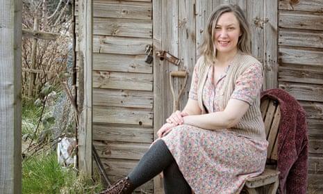 Lia Leendertz on her allotment in Bristol.