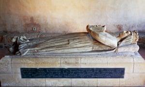 Tomb of Berengaria of Navarre
