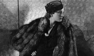 Gerda Sommerhoff modeling pill box hat by Suzy, with fur cape, and jewels by Black, Starr, and Frost-Gorham, Vogue 1935.