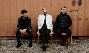 Bucking trends … Courteeners, from left: Michael Campbell, Liam Fray, Daniel 'Conan' Moores.