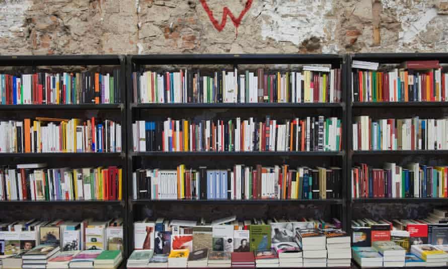 Llibreria Calders, in Sant Antoni, is in a disused button factory.