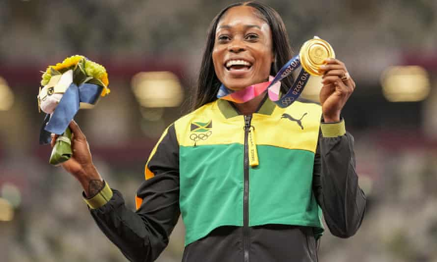 Elaine Thompson-Herah is a four-time Olympic champion