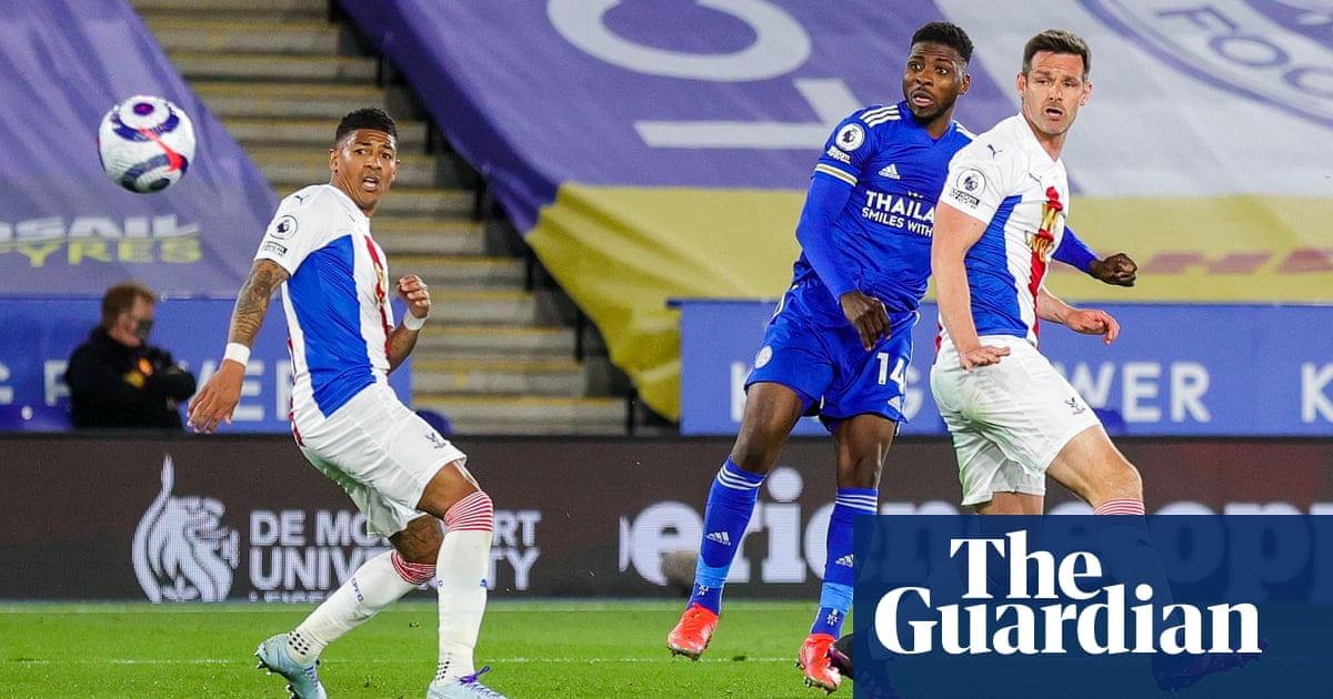 Iheanacho stunner boosts Leicester's top-four bid with Crystal Palace win
